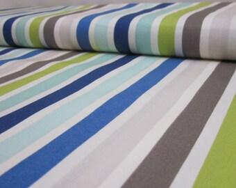Riley Blake Blue Seaside Stripe Cotton Fat Quarter
