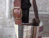 OOAK Recycled and Vintage Deep Shoulder Bag No. 1