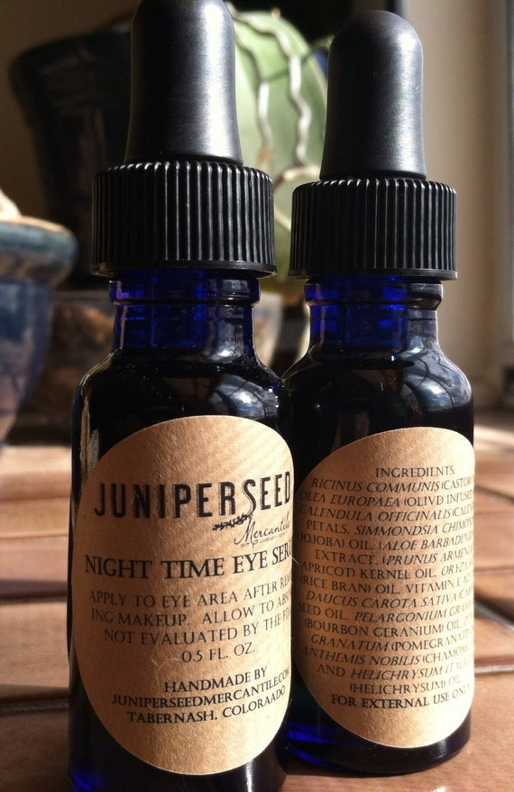 Night Time Eye Serum With Calendula, Helichrysum and Pomegranate