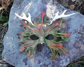 Antlered Great Greenman Mask