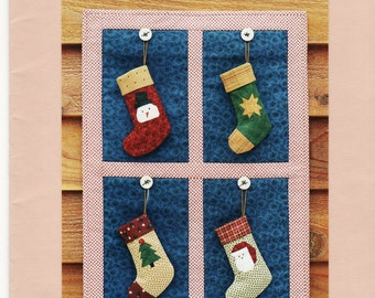 Stocking Ornaments 2001 Pattern by MH Designs (D-080)
