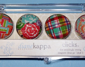 4 Pack of Amazingly Strong Magnets with Ingenue Design
