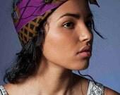 "Meet the maker Headband ""magic eye"" african cotton Etsy+ Refinery 29 collaboration"