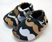 Moustache Cloth Baby Shoes
