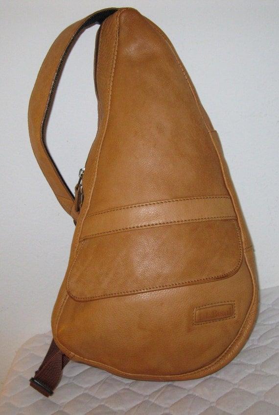 Ll Bean Ameribag Ergonomic Healthy Back Sling Bag Daypack In
