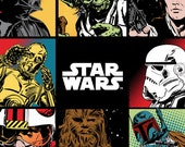 Star Wars Fabric By The Panel