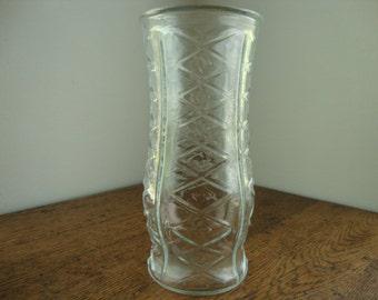 Clear glass vase Clear glass Brody vase EO Brody vase Clear vase Brody glass large vase centerpiece flower vase Large glass vase Tall vase