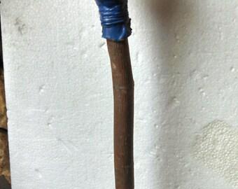 Custom Painted Rawhide Rattle Beer Tap Handle on Etsy - Kegerator - Man Cave