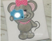 Say Cheese Photographer Mouse Girls Shirt - Personalization Available - DipsyDoodlebug