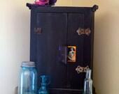 Upcycled Vintage Medicine Cabinet.