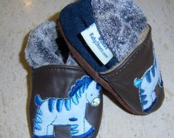 suede baby shoes ,zebra , lined  suede mocassins, suede mokassins, children shoes,