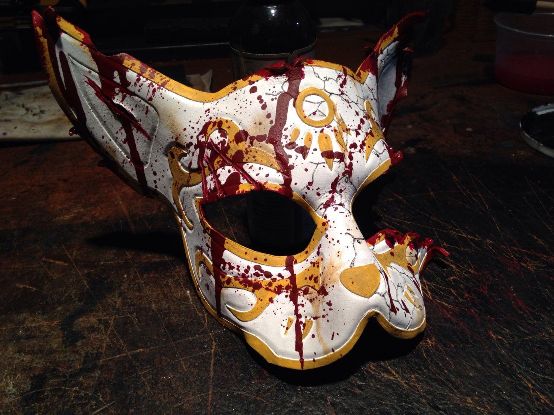 bioshock splicer cat mask