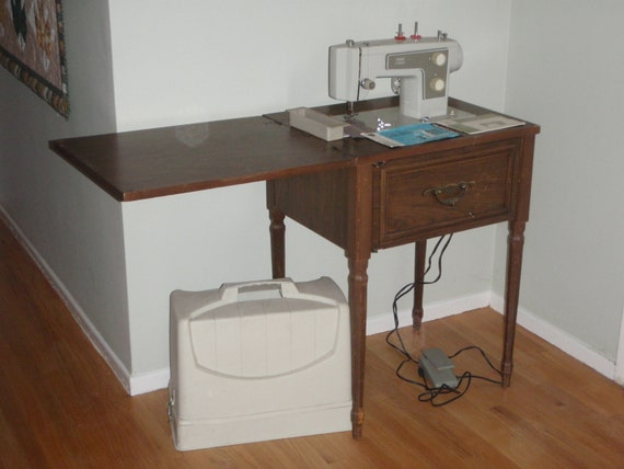 Reduced Old Sears Kenmore Sewing Machine With By
