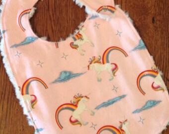 Unicorn Baby/Toddler Bib
