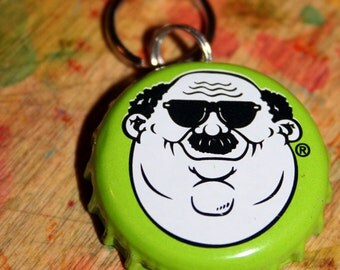 Personalized Beer Cap Pet ID Tags Fat Head's Brewery