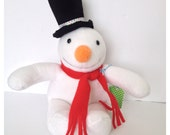Plush Snowman - Flurry - LittleLuckies2