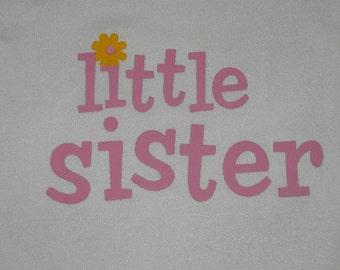Little Sister Baby Onesie - Size NEWBORN 0-3 months