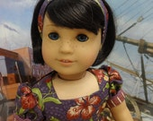Heritage Flowers - vintage style dress for American Girl doll