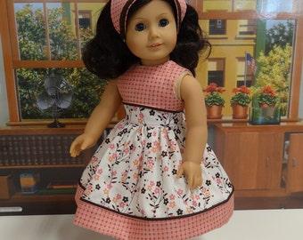 Summer's End - Dress for American Girl doll