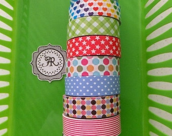 Washi Sticker, Washi Tape PER FOOT Sale, Planner Sticker, Decorative Tape, Sticker Tape, Adhesive Tape, Great on Erin Condren Life Planner