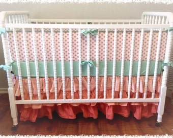Crib Baby Bumper Pads you design- Choose your own fabric