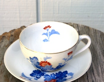 Cup and Saucer Occupied Japan