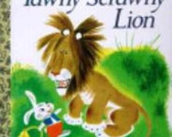 Golden Books Fabric Panel The Tawny Scrawny Lion