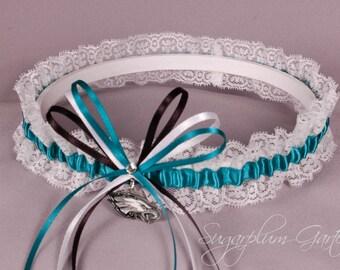 Philadelphia Eagles Lace Wedding Garter