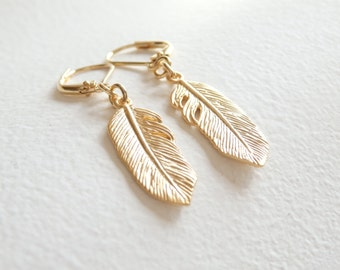 Little Feather Earrings