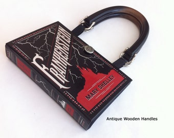 Frankenstein Recycled Book Purse or Book Clutch