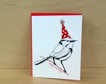 Party Bird - Birthday Card