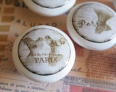 Assorted Corsets Paris France Drawer Knobs 6 pc set