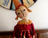 Primitive Handmade Americana Doll