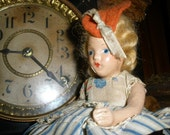Vintage composition French doll