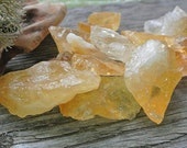Rough Citrine Chunk // Healing Crystals and Stones // Rocks and Minerals // Reiki // Wicca Crystals // Boho Mineral Decor // Altar Stones