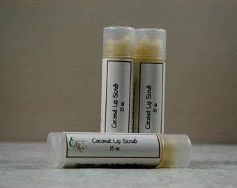 Coconut Lip Scrub - Natural Lip Scrub