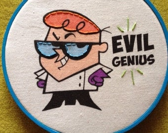 Evil Boy Genius Scientist Dexter Of Dexter S Laboratory Of