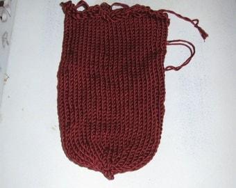 Dark Red dice bag