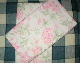 Pillow Shams Pink Roses Pillow Cases Set of 2