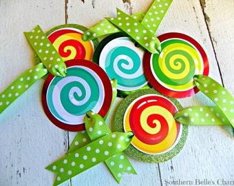 Candy Napkin Tags...Set of 10 Napkin Tags