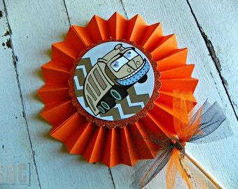 I Stink: Garbage Party Pinwheel...Set of 1 Garbage Pinwheel