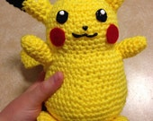RESERVED!!  For Shelbie!  Pikachu Amigurumi