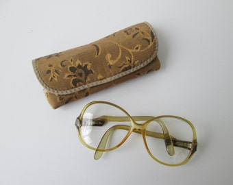 Vintage Christian Dior Eyeglasses with case