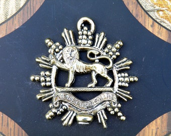 SALE! Royal Medieval Lion Coat of Arms Wall Plaques - Set of Four - Late 1960's - Early 1970's - Lion Crests