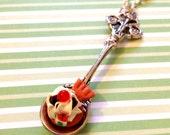 SUPER SALE Saucy Silver Spoon Necklace