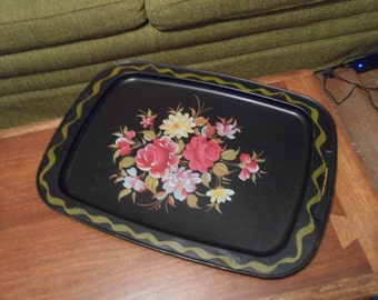 Vintage Black tray