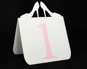 High Heels Table Numbers 1 to 25