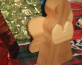 Wooden Angel for your Home Decor or Horse Trailer to help watch over you