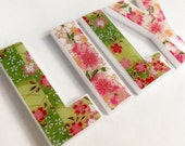 decorative letters for nursery - girls names