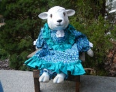 RESERVED for Jeanne - Lambchop the Sheep and Penelope the Pig